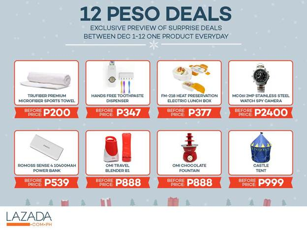 LAZADA Christmas 2015 Deals PR (2)