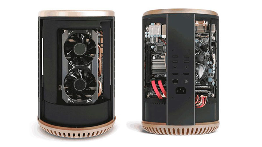 new styles d93cc dc056 Turn Your PC into Mac PRO Look-alike with DUNE CASE   TechPorn