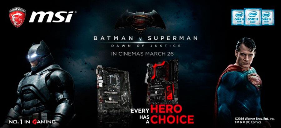MSI Batman v Superman PR (2)