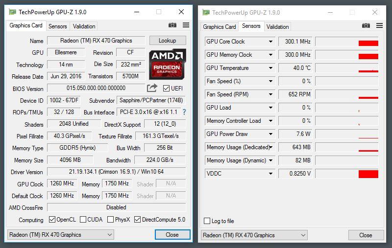 SAPPHIRE Radeon RX 470 NITRO+ OC 4GB Review | TechPorn
