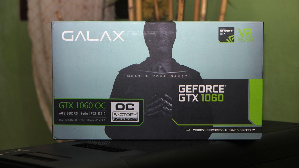 Review   GALAX GeForce GTX 1060 OC 6GB   TechPorn