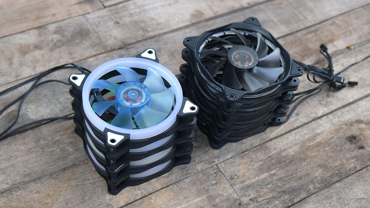 OMEGA NOVA & HALO 120mm Fan Series Overview | TechPorn