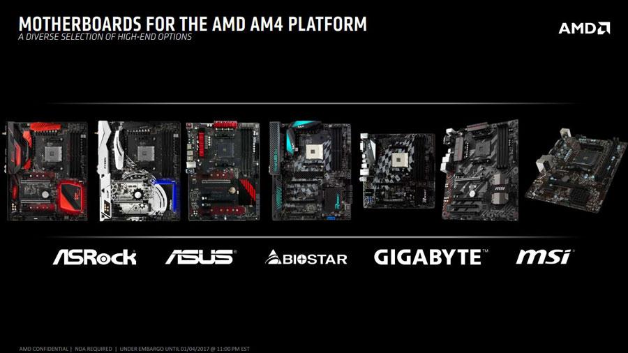 AMD Ryzen CES 2017 News PR (3)