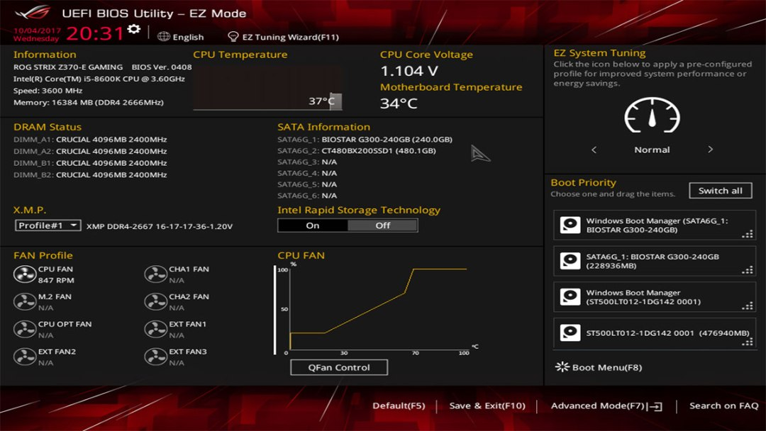 Review | ASUS ROG Strix Z370-E Gaming Motherboard | TechPorn