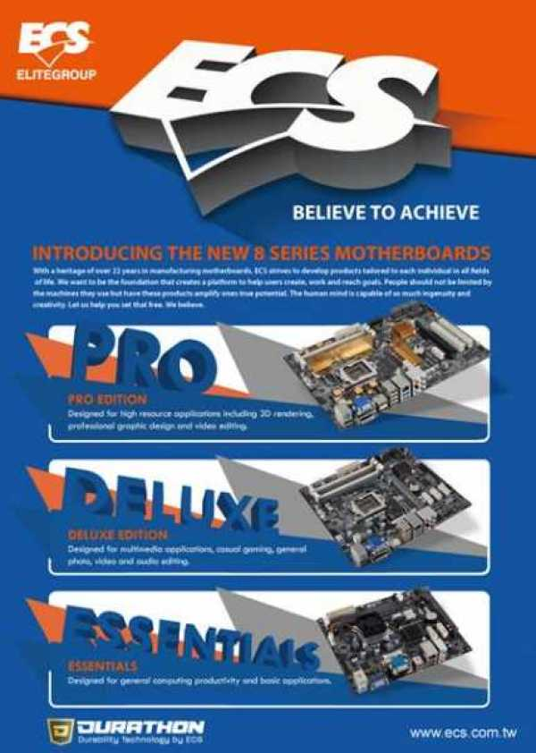 ECS 8 Series Motherboards (2)