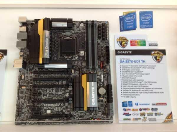 GIGABYTE Z87X-UD7 TH COMPUTEX (2)