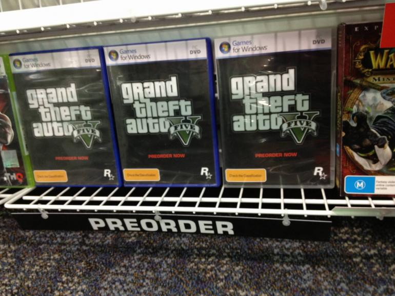 GTA V PC Retail Version