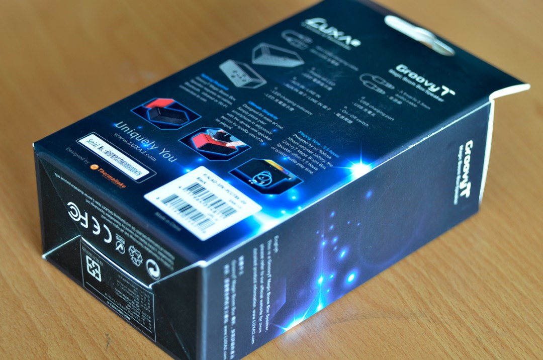 LUXA2 Groovy T Wireless Speaker (2)