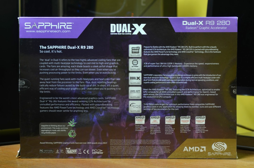 SAPPHIRE R9 280 DUAL-X OC (2)