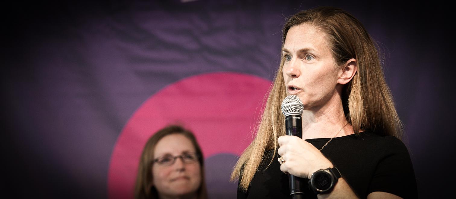 Jana Eggers, NaraLogics, at StartupFest