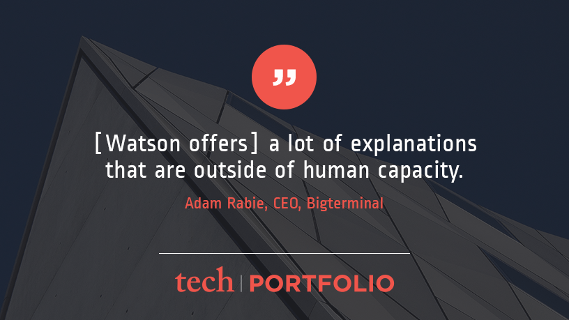 TechPortfolio-Quote about Watson