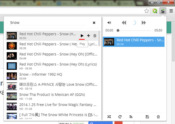 Streamus Turns Google Chrome Into a Youtube Powered Music Player