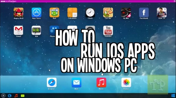running ios apps on pc