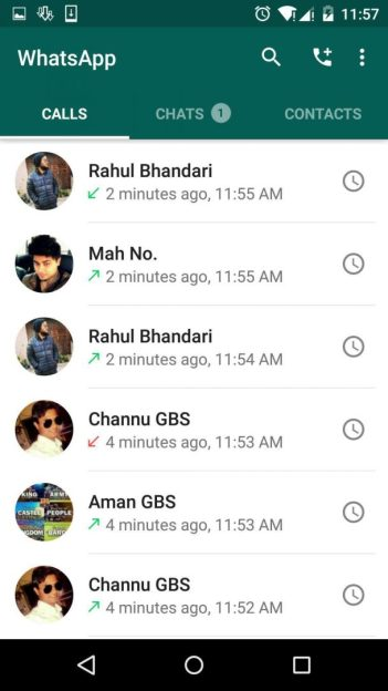 Find actual dollar figure of using WhatsApp voice calls