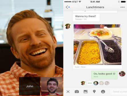 Google hangouts App for Android and iOS