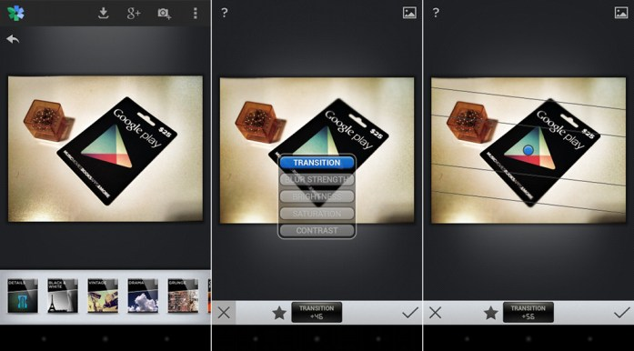 Snapseed app for Android Devices
