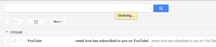 That's It - How to undo a sent email on Gmail