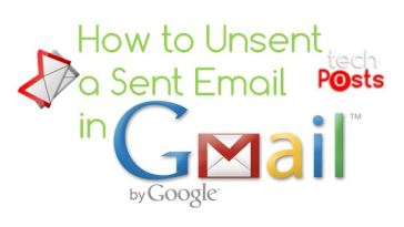 How to Unsent a send email in Gmail