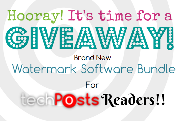 Watermark and Video to GIF Software Giveaway for Techposts Readers
