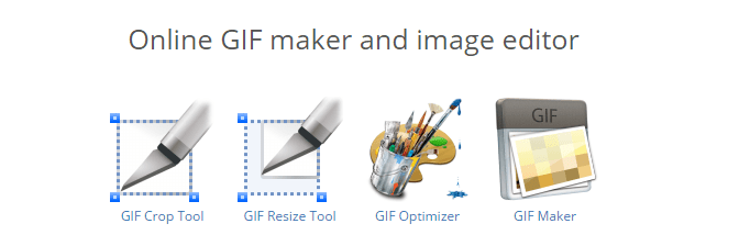 Animated gif editor and gif maker