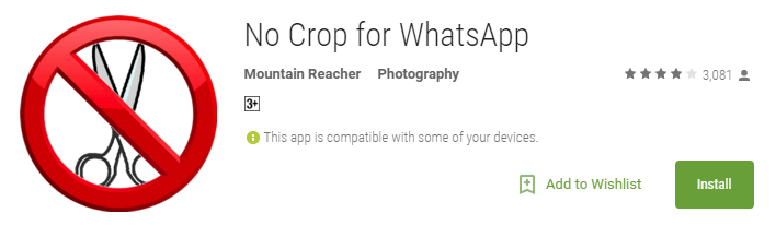 No Crop for WhatsApp - Android Apps on Google Play