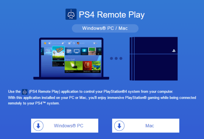 Play PS4 games on Windows PC