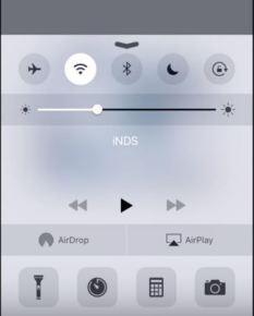 Invoke Control settings in iOS Devices
