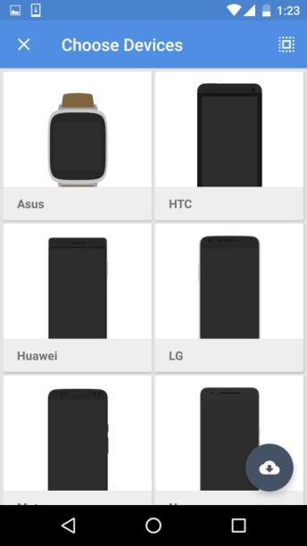 Select device and Manufaturer