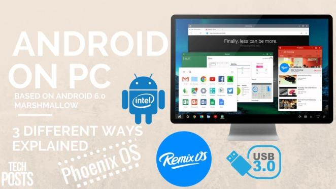 How to Install and Run Android 6.0 on Windows PC - 3 Ways Explained