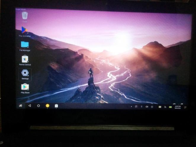 Remix OS on 64 bit Machine