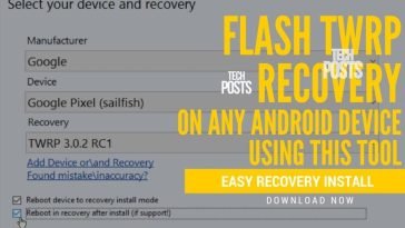 Easy recovery Installer tool to install Custom recovery on Any Android device