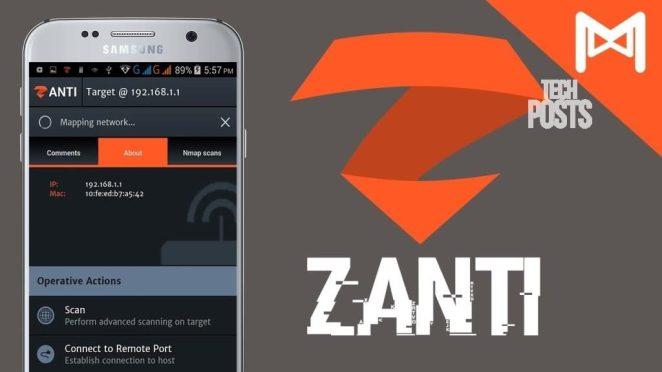 Zanti Android Hacking App