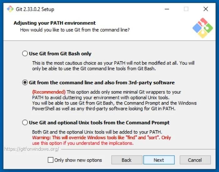 установка Git в Windows
