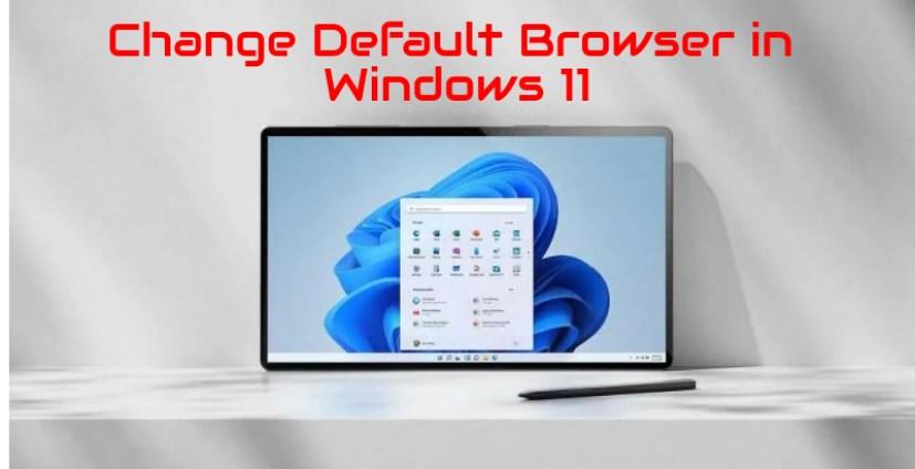 Миниатюра браузера по умолчанию в Windows 11