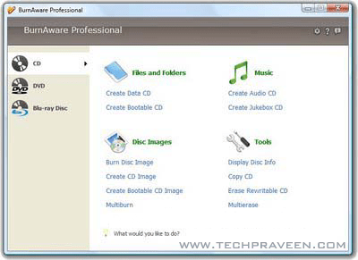 BurnAware Professional 2.1