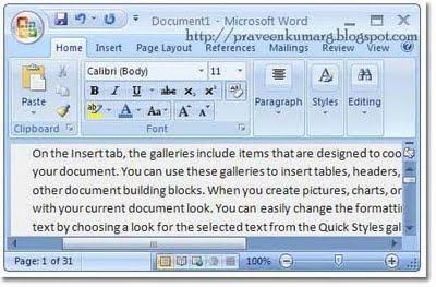 Easter Eggs in Microsoft Word