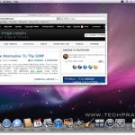 How to Take Screenshot in Mac OS X 10.5 & 10.6