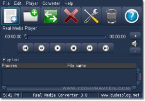 Real Media Converter - Convert Real Media formats