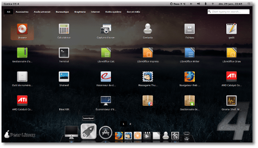 Download Comice OS 4 The Mac-Looking Linux