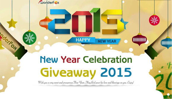 WonderFox 2015 New Year Celebration Giveaway- 1000 free copies of license keys per day!