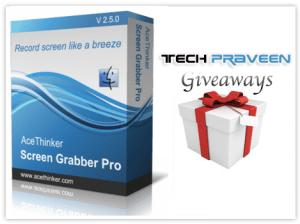 Acethinker Screen Grab Pro Giveaways