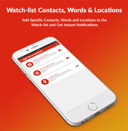 Watch List of Contacts and Location