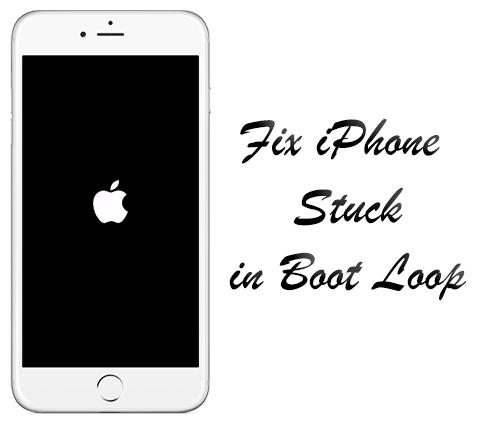 Fix iPhone Stuck in Boot Loop