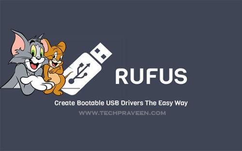 Rufus Create Bootable USB Drives of Windows, Linux