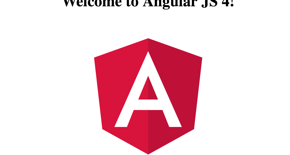 Getting Started With Angular 4 & Angular CLI