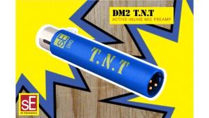 sE Electronics DM2 T.N.T: flexibler Inline-Mikrofonvorverstärker für Bühne und Studio
