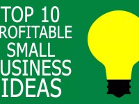Top 10 Small Scale and Profitable Business Ideas