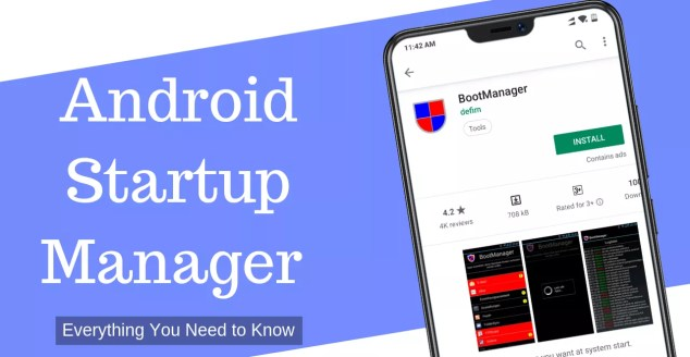 Startup manager