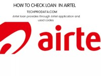 HOW TO CHECK LOAN IN AIRTEL