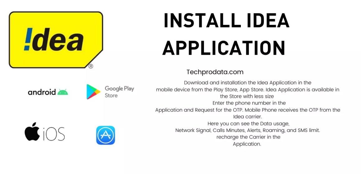Install Idea Application